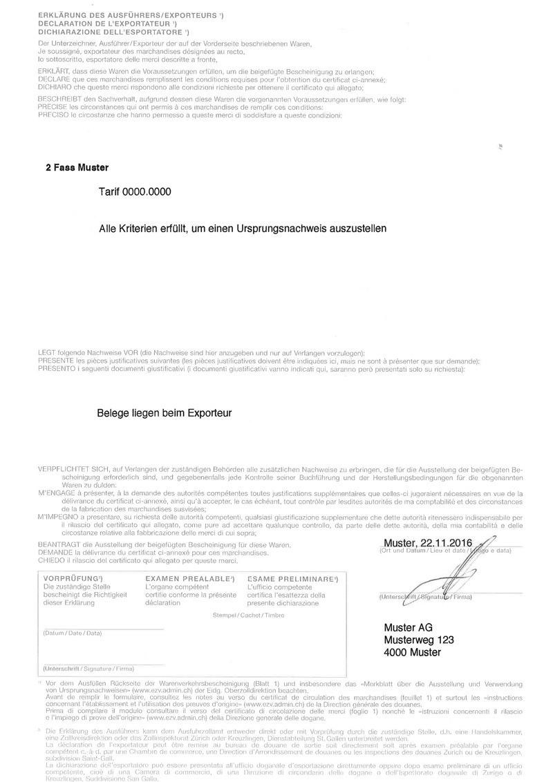 EUR1 - eur1.ch Informationen zu EUR1 bestellen